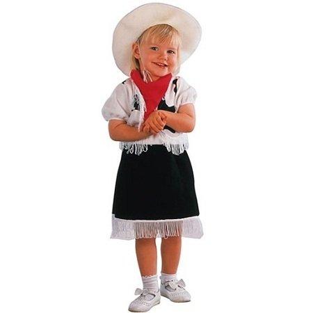 Cowgirl Kostüme Kleinkind Für (Cowgirl-Kostüm für Mädchen)