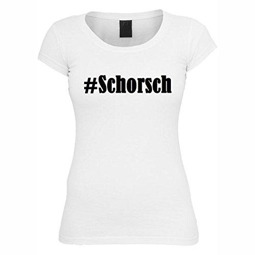 T-Shirt #Schorsch Hashtag Raute für Damen Herren und Kinder ... in der Farbe Weiß Weiß