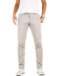 599f6801d9 Yazubi Pantalones Chinos Hombre Slim Fit Algodón - Luke
