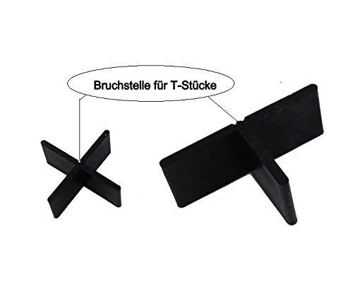 Fugenkreuze in 3mm,4mm oder 5mm für Terrassenplatten auch Bodenplatten (500, Fugenbreite 4mm Fugenhöhe 20mm)