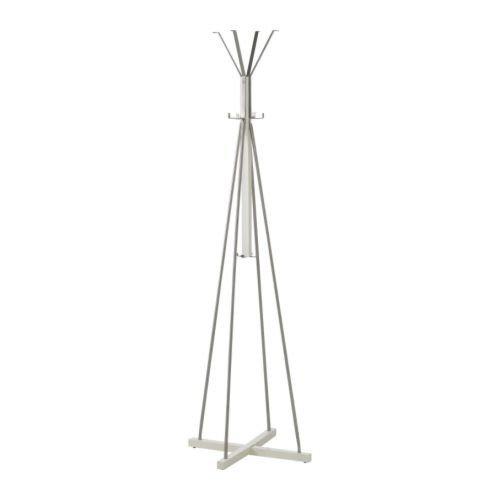 Ikea TJUSIG Garderobenständer in weiß; (191cm)