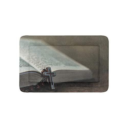 Christian Jesus Kreuz Glaube Buch Extra Große Individuell Bedruckte Bettwäsche Weiche Hundebett Für Welpen Und Katzen Möbel Matte Höhlenauflage Kissenbezug Innen Geschenk Lieferanten 36 X 23 Zoll