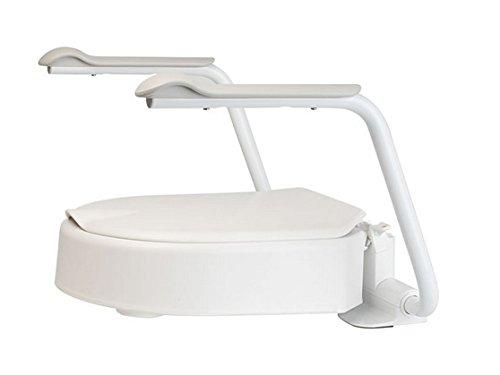 Ability Superstore Etac Hi-Loo - Rialzo per sedile WC con braccioli, 10 cm