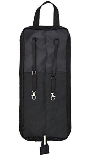 Trommelstocktasche Drumsticktas che Drumstick Bag /Halter, Einfach an Den Floor-Tom und Einfacher Zugang zu Ihren Sticks oder Lagerung und Tragen Sie Damit Draußen / Ausgezeichnete Idee für die Casual oder Professional Drummer