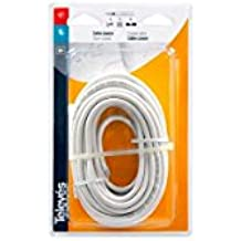 Televes 4371 - Cable coaxial t100 al 10m blister