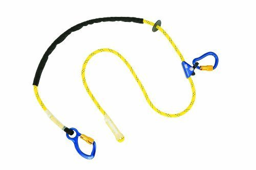 dbi-sala-1234080-adjustable-rope-positioning-strap-8-foot-with-aluminum-carabiner-at-one-end-rope-ad