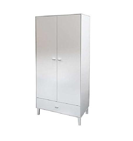 Aimee 2 door 1 Drawer wardrobe white SALE PRICE panama
