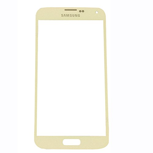 Uu fix lcd display touch screen, samsung galaxy s5 (oro),abdeckungtouch screen digitizer cover frontale vetro di ricambio con strumenti di riparazione