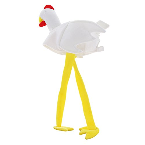 uen Tier Kostüm-Hahn Plüschtierhut Partyhut Tierhut Hühnchen Hahnhut Hühnerhut (Die Meisten Realistischen Halloween Kostüme)