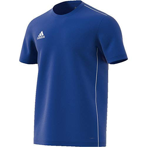 adidas Core 18 T Camiseta, Hombre, Azul (Bold Blue/White), XS