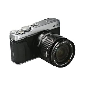 Fujifilm X-E2 Camera - Silver (16.MP, CMOS II Sensor, 18-55mm Lens Kit)