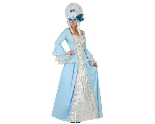 Costume da dama barocca turchese per donna xs/s