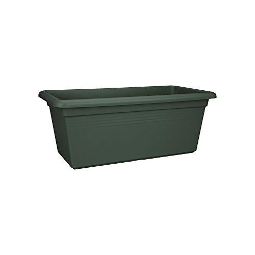 Elho Green Basics Jardin Xxl 60 - Planteur - Leaf Green - Extérieur - L 29.5 x W 59.2 x H 27.7 cm