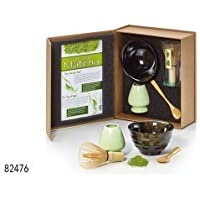 Cha Cult Set de té Matcha Danny de cerámica 4 piezas Bol, cuchara,