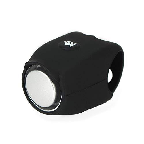 Ultra-Loud Fahrradklingel Fahrrad Elektrische Ring Horn Sicherheit Radfahren Alarm Lenkerhalterung Klar Laut Warnung Glocke mit Silikonhülle