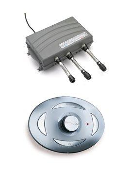 Hp-mixer (Triton satmixsir-hp Chrom Satelliten Hohe Druck Mixer mit Fernbedienung,)