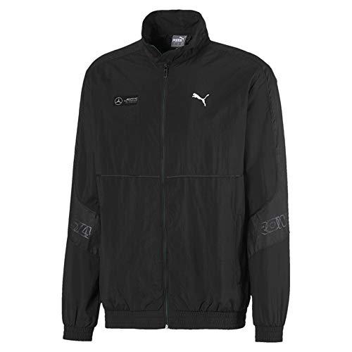 Cat Woven Jacket (Puma MAPM Street Woven Jacket Mercedes Jogging & Sportbekleidung Herren Schwarz - L - Trainingsjacken)