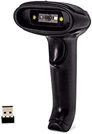 Wireless 2D Barcode Scanner,Symcode Datamatrix PDF417 QR Code Handheld Reader for Screen and Printed Bar Code