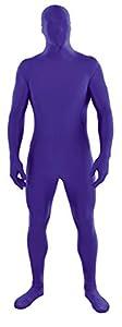 Amscan International 843655-14-55 - Disfraz completo de Halloween de Lycra y Spandex, XL, color morado