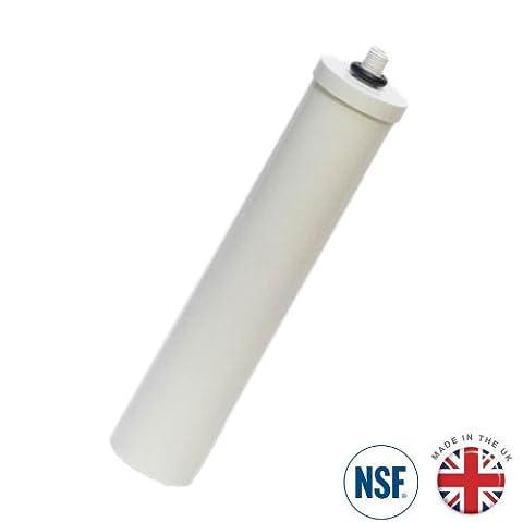 Doulton fluorure réduction Bougie 5,1x 25,4cm Support court