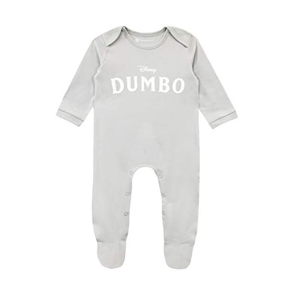 Disney Pijama Entera con Gorro para Niños Bebés Dumbo 2