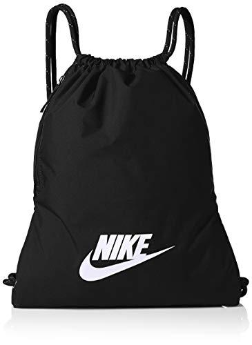 Nike Unisex-Adult Nk Heritage Gmsk - 2.0 Luggage- Garment Bag, Black/Black/White, 43 cm