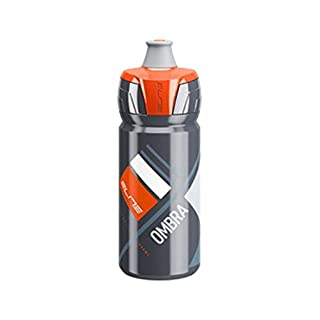 eLITe Ombra Trinkflasche, Grau-Orange, 550 ml
