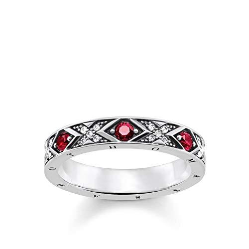 THOMAS SABO Damen-Ringe 925 Sterlingsilber mit \'- Ringgröße 60 TR2164-640-10-60