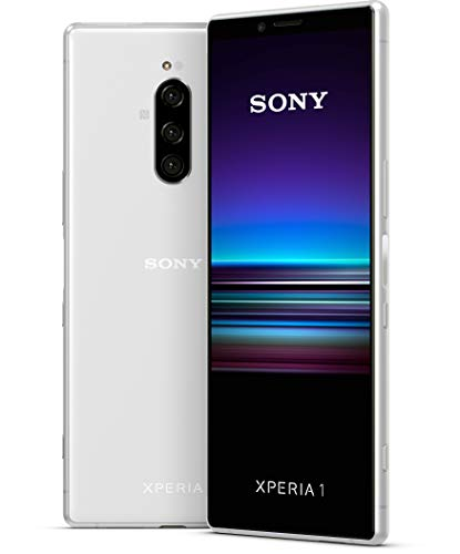 "Sony Xperia 1 16,5 cm (6.5"") 6 GB 128 GB SIM Doble 4G White 3330 mAh - Smartphone (16,5 cm (6.5""), 6 GB, 128 GB, 12 MP, Android 9.0, White)"