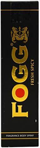 Fogg Fresh Spicy Black Series For Men, 150ml