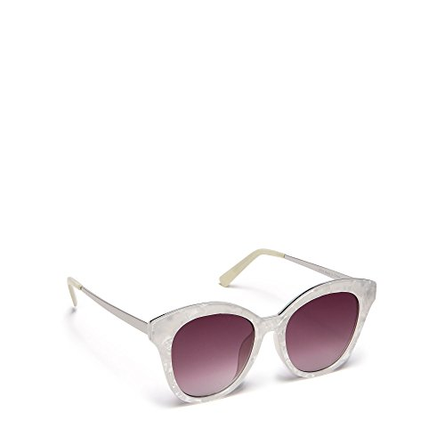 floozie-by-frost-french-womens-white-marble-effect-cat-eye-sunglasses