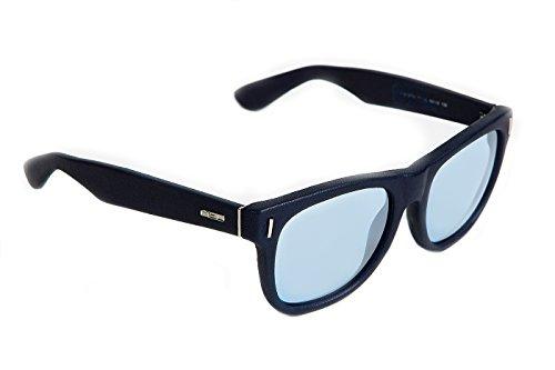 rainbow safety Herren Sonnenbrille Ledrig MED Limitierte Edition UV400 Schutz O2004-BL