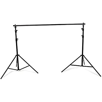 PhotoSEL BS214 Professional Heavy-Duty Background Support System 2.5m (H) x 3m, 2.3m or 1.5m (W) with Carry Bag