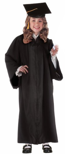 k Graduation Robe Child's Costume, Standard ()