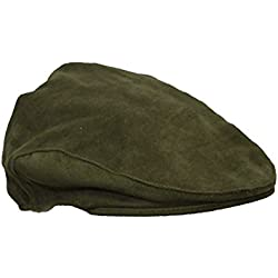 Walker and Hawkes Unisex Deslizante Gorro de algodón de molesquín–Impermeable–Tallas S a XL Verde Oliva Large