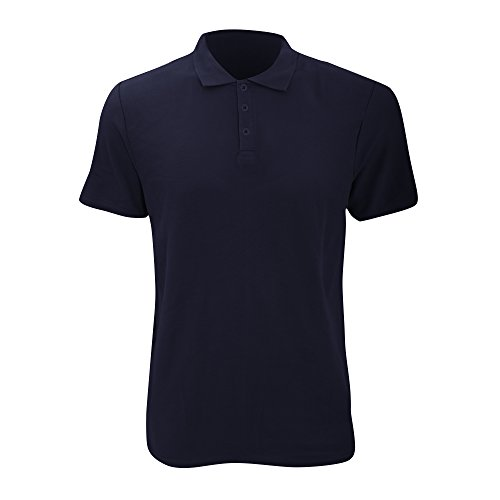 anvil Herren Fashion Basic Polo Piqué / 6280 Marineblau