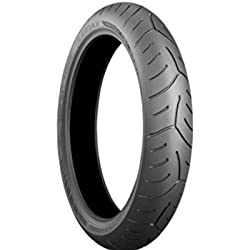 Bridgestone Battlax Sport Touring T30 Tire - Front - 120/ 70ZR-18 , Position: Front, Rim Size: 18, Tire Application: Touring, Tire Size: 120/70-18, Tire Type: Street, Load Rating: 58, Speed Rating: (W), Tire Construction: Radial 000883