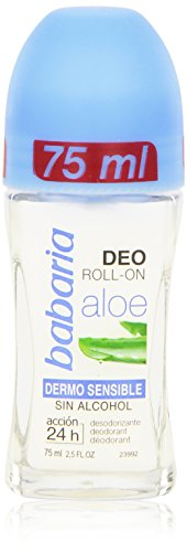 Babaria Deodorante, Aloe Vera Dermo Sensible Deo Roll-On, 75 ml