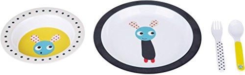 Farg Form Skummis Vaisselle Définit Gris/Ocher