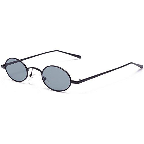 SHEEN KELLY INS Sonnenbrille Oval Vintage Sonnenbrille Gothic Steampunk Sonnenbrille Tiny Mode Kleine BRILLE Transparente Linsen Farbe