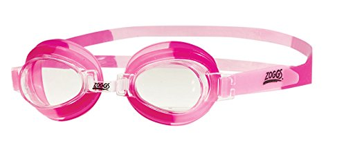 Zoggs Kinder Little Swirl Schwimmbrille, Light Pink/Clear, One Size