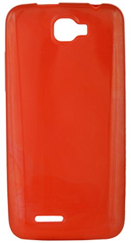 iCandy™ Colorfull Thin Soft TPU Back Cover For Micromax Canvas Mad A94 - Red  available at amazon for Rs.180