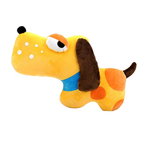perfk Hund Plüschtier zum Selbernähen, inkl. Stoffpaket, Nadeln, Faden, und Schnittmuster Anleitung für Zauberhaftes Stoffspielzeug