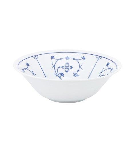Kahla - Porcelaine pour les Sens 462902A75019H Saks Tradition Plat de Service Bleu/Blanc 19 cm