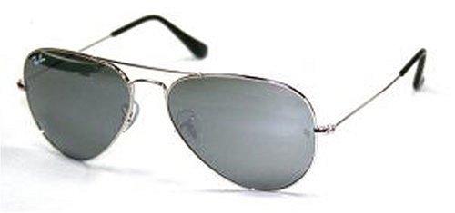 Ray-Ban - Lunette de soleil RB3025-W3275 Large Metal Aviator RB 3025 W3275 bf1fb959981e