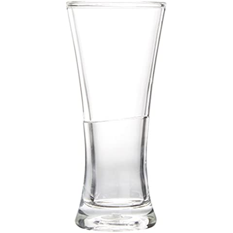 Amsterdam Glass Vaso de Cerveza, Doble Pared, 250ml, 2 Piezas, FSMB01042