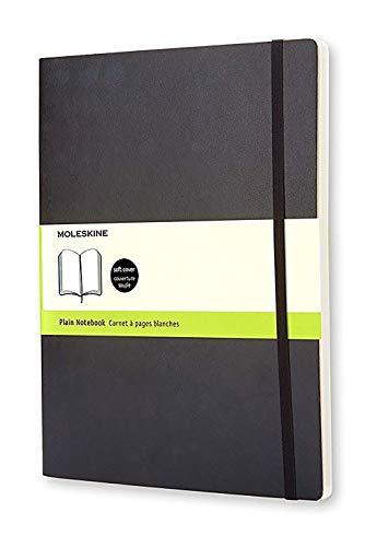 Moleskine Notizbuch, Xlarge, Leer, Soft Cover, Schwarz