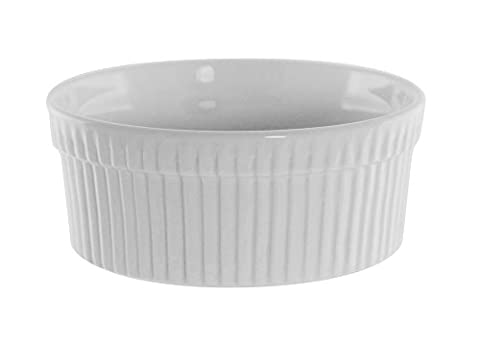 Dix Strawberry Street Whittier - 5 pouces Ramequin-Souffle Dish -