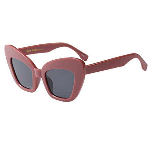 Dorical Sonnenbrille für Unisex/Damen Herren klassische Brille Vintage Brille PC gestell Brillenfassung Brille Dekobrillen Outdoor Sports Glasses Valentinstag Brille für Männer Frauen Sale