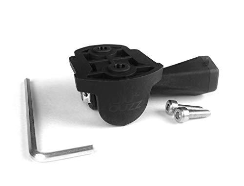 Este adaptador se atornille en los montajes de Garmin para que puedan sostener una cámara GoPro debajo. No es necesario comprar un nuevo montaje cuando de obtener su GoPro , sólo tiene que sacar los tornillos de la parte inferior de su montaje Garmin...